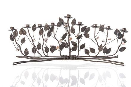 Picture of #688 Bronze Brambles Menorah