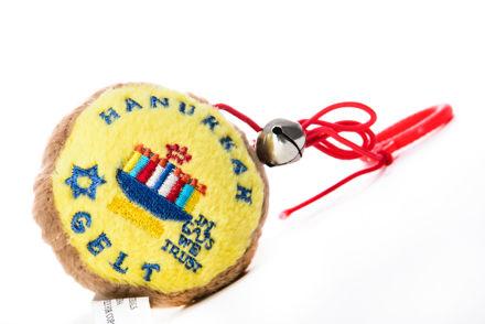 Picture of #939 Gelt Hanukkah  Crazy Kitty Cat Nip Toys