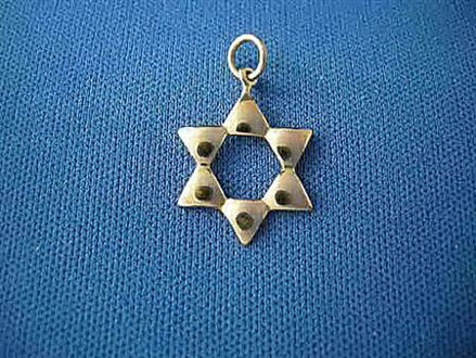 Picture of #G1005 Puffed Star of David