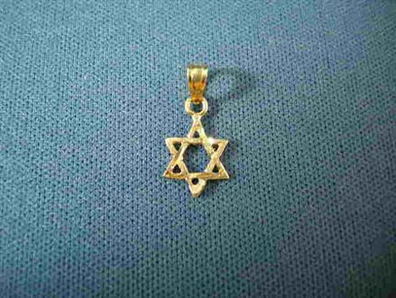 Picture of #G102 Micro Classic Star of David
