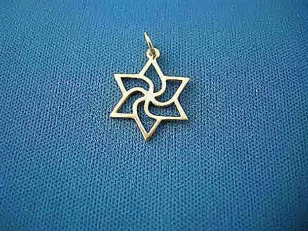 Picture of #G118 Pinwheel Star of David