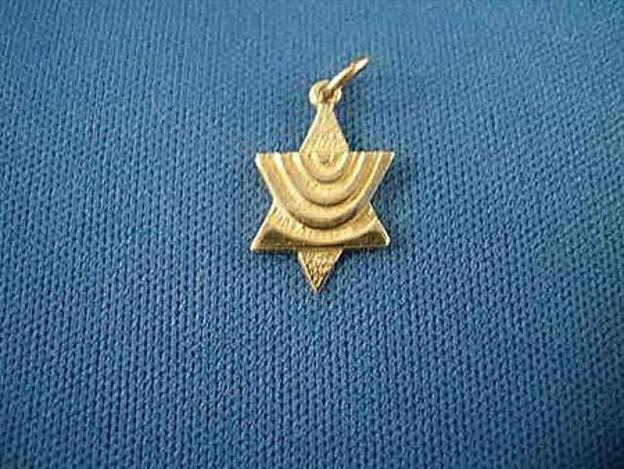 Picture of #G119 Menorah Star