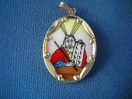 Picture of #G317 Moses Medallion (Large)