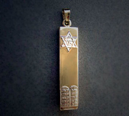 Picture of #G522 Elementary Mezuzah Charm