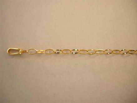 Picture of #GTIFF 14K Yellow Gold Tiffany Chain