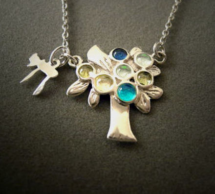 Picture of #SN-95 Tree of Life Necklace