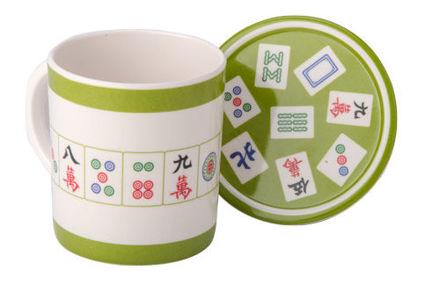 Picture of #413M Mah Jongg Mug and Coaster