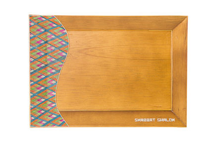 Picture of #C105-L Reed Sea Shabbat Tray