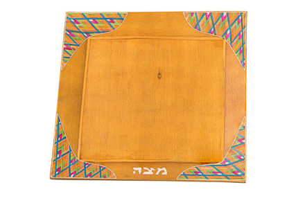 Picture of C101-L Reed Sea  Matzah Plate