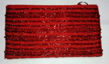 Picture of #B605-04 Beaded Purse Large