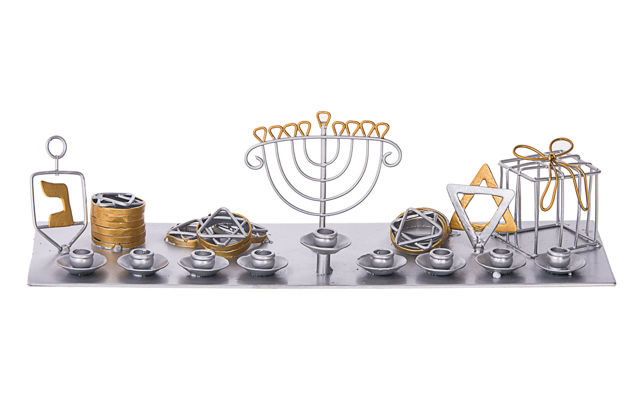 Picture of #207 Channukah Menorah