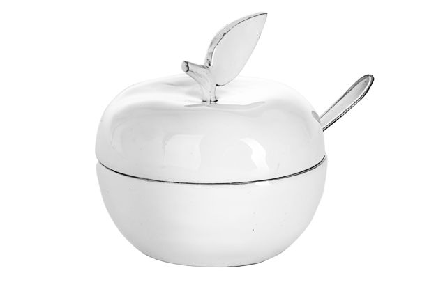 Picture of #479-WH Honey dish White
