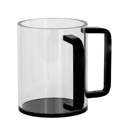 Picture of #7070-B Wash Cup Black Lucite
