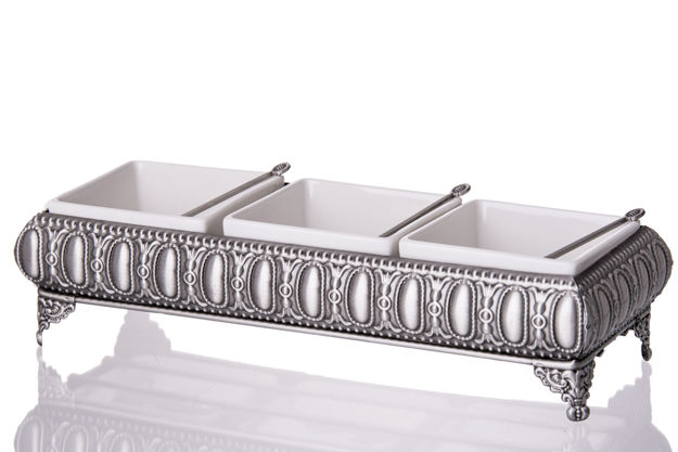 Picture of #71613 Pewter Sectional