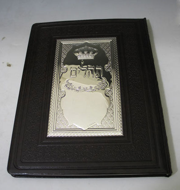 Picture of #3009 Tehilim Leather  & Sterling Silver Cover