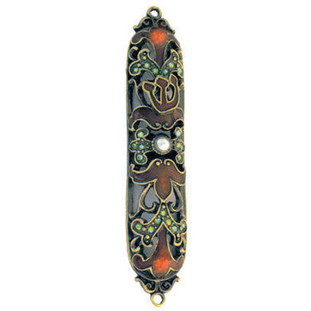 Picture of #4933 Mezuzah Jeweled