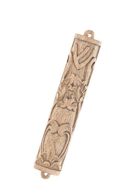 Picture of #075-C Mezuzah wood Cempaka