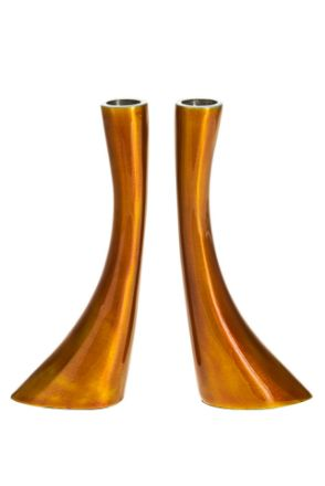 Picture of #G102-GO Candle stick Gold Enamel